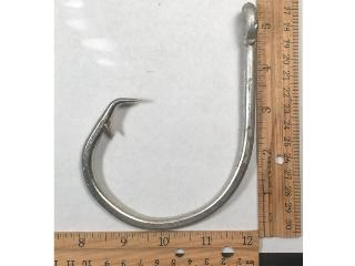 26/0 Huge Giant Hi Carbon Circle hook non offset